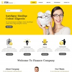 FDSFinance - WordPress тема